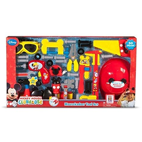 .com: just play mickey mousekadoer tool set: toys & games