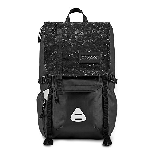JanSport Hatchet Special Edition Laptop Backpack - Black Dot Matrix ()