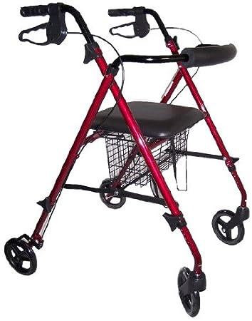 Amazon.com: Andador plegable ligero con con trabillas rompe ...