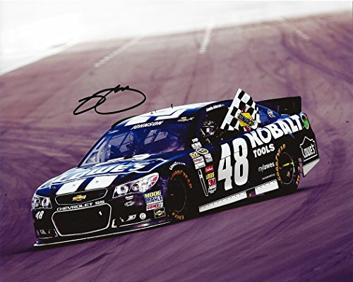 AUTOGRAPHED 2013 Jimmie Johnson #48 Kobalt Tools Racing BRICKYARD 400 WIN (Indianapolis Motor Speedway) Signed...
