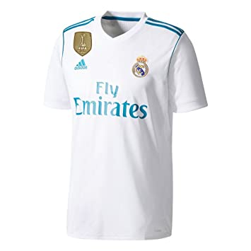 Real Madrid Home Jersey 2017 / 2018 + FRE Club World Cup Champions Patch (XXX