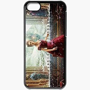Personalized iPhone 5C Cell phone Case/Cover Skin Anna karenina keira knightley anna karenina jude law alexei karenin aaron taylor johnson count vronsky Movies Black