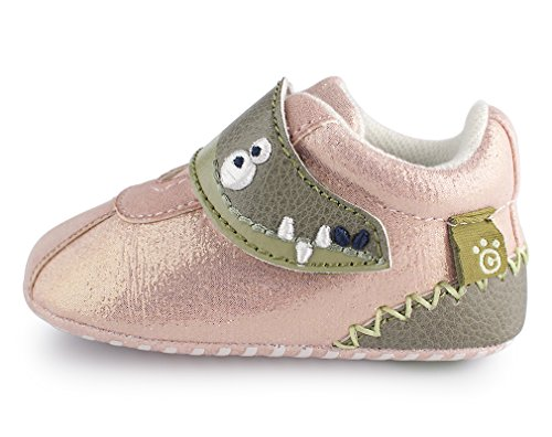 Baby Girl Pink Pram Shoes - 5