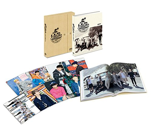 GOT7 [GOTCHA] PERFECT GETAWAY IN L.A. (2nd Photobook) + Photobook (300p) + 8 postcards + Standing Figure + Poster(first press -
