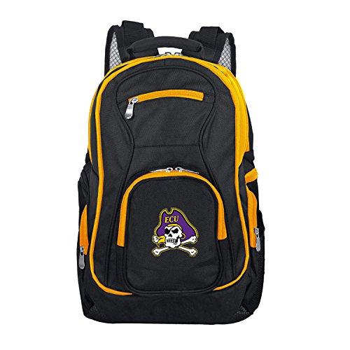 - NCAA East Carolina Pirates Colored Trim Premium Laptop Backpack