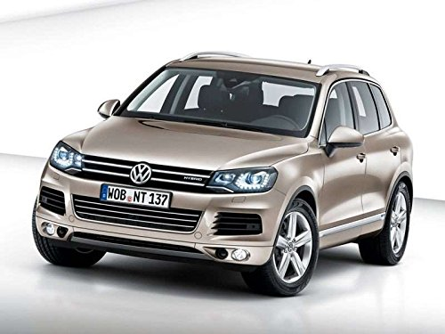Home Comforts Peel-n-Stick Poster of 2011 Volkswagen Touareg Hybrid Car Poster 24x16 Adhesive Sticker Poster Print