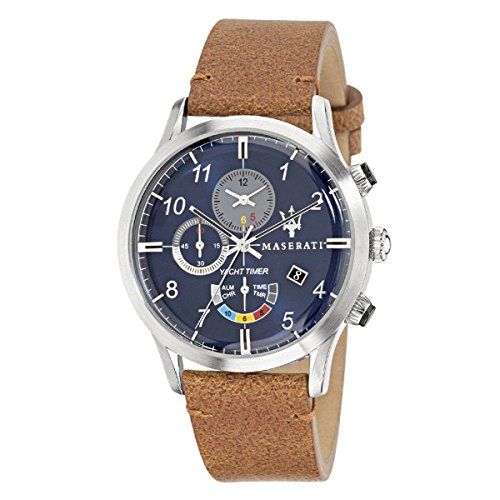 MASERATI RICORDO YACHT TIMER CHRONOGRAPH ALARM MEN'S WATCH