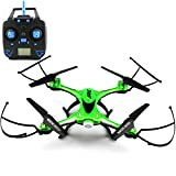 JJRC H31 Waterproof One Key Return 2.4G 4CH 6Axis RC Quadcopter RTF 360°Rolling High Speed Rotation One Key Return (Green)