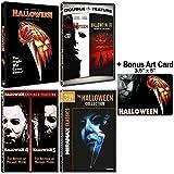 Halloween: Complete 8 Movie DVD Collection with Bonus Art Card -  Jamie Lee Curtis