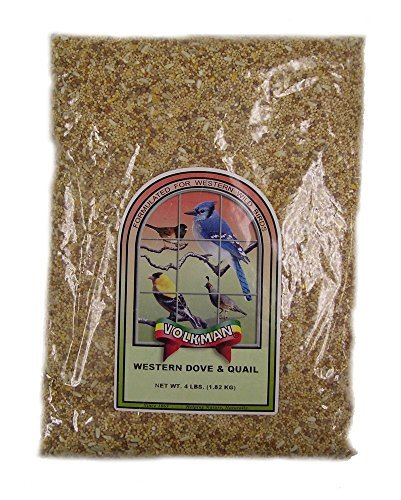 Volkman Western Dove and Quail Wildbird Mix 4lb by Volkman