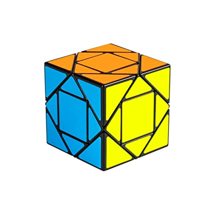Alician Unique Magic Cube Educational Puzzle Toy for Kids Stress Reliever