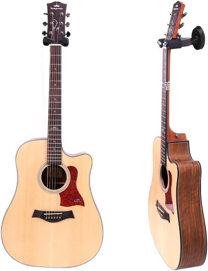 Soporte Pared Guitarra, Yuccer 2 Paquetes Ajustable Colgador de ...