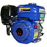 Blue Max GE65B 6.5 HP 4-Stroke Gas Powered Engine Horizontal Shaft