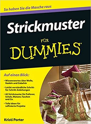 Strickmuster Fur Dummies (Für Dummies): Amazon.co.uk: Kristi Porter ...