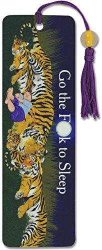 Go the F*ck to Sleep Beaded Bookmark