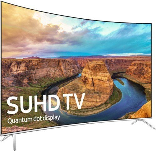 Samsung 8-Series UN55KS8500 55-inch Class 4K SUHD Smart Curved LED TV - 3840 x 2160 - 240 MR - Black (Certified Refurbished)