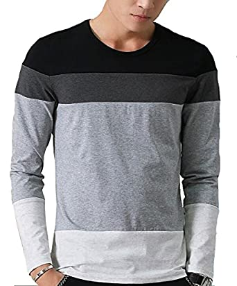 EYEBOGLER Men s Striped Regular Fit T-Shirt …  Amazon.in  Clothing    Accessories abd1517b14