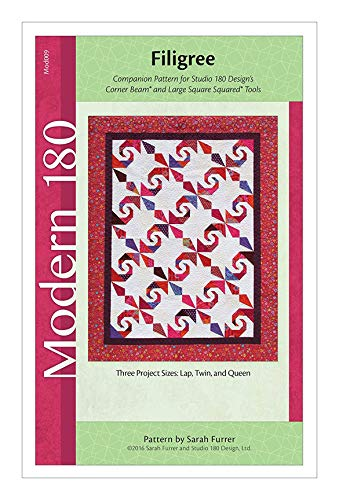 Studio 180 Designs Modern Quilt Pattern - ''Filigree'' (Includes Instructions for Three Project Sizes)