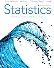 Statistics for Business and Economics (7th Edition) (Hardcover)