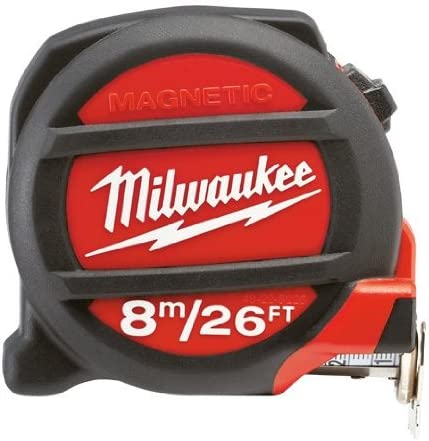 Magnetic Tape Measure Milwaukee Electric Tool 48-22-5225 8M-26