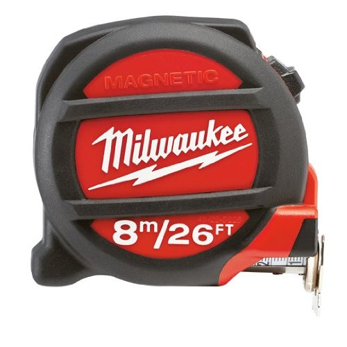 UPC 045242296910, Milwaukee 48-22-5225 26'/8M Magnetic Tape Measure