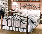 Hillsdale Furniture Winsloh Bed Set with Rails