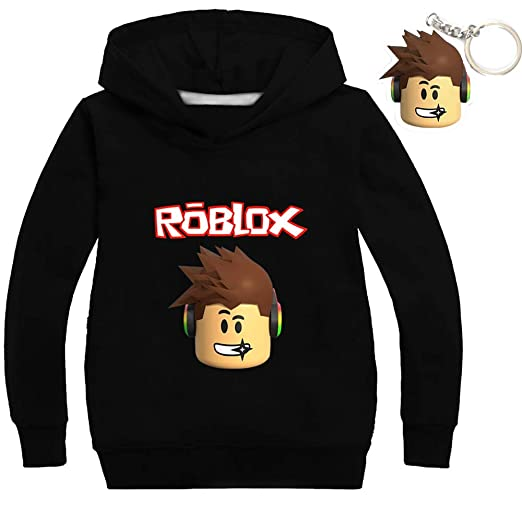God Sweet Boys Girls Kids Roblox Cotton Hooded Long Sleeve Shirts
