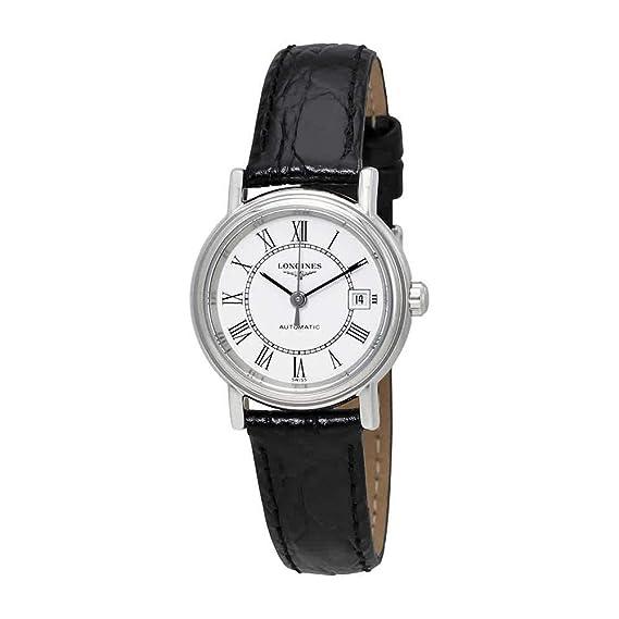 Longines watches- Longines La Grand Classic automático ver Tru trasera reloj de pulsera de mujer