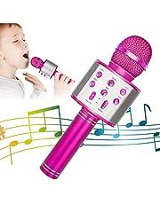 KIDWILL Wireless Bluetooth Karaoke Microphone for Kids