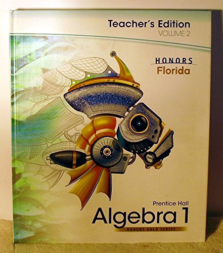 Prentice Hall Algebra 1, Vol. 2 (Honors Gold Series) (Prentice Hall Algebra 1 Honors Gold Series)
