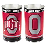 Wincraft NCAA Ohio State University Tapered Wastebasket, 15-Inch