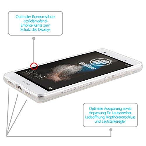 Huawei subir P8 Lite Diseño con carcasa de silicona transparente