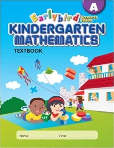 Earlybird Kindergarten Mathematics Textbook A (Standards Edition ...