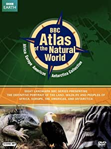 BBC Atlas of the Natural World Set: Africa, Europe, Western Hemisphere, Antarctica