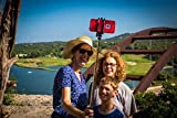Selfie Stick iPhone 6 and iPhone 6 Plus Remote Bluetooth Shutter. Best Self -Portrait Monopod Selfie Pole New and Improved Compatible with iPhone 5, 5S, 5C, Android