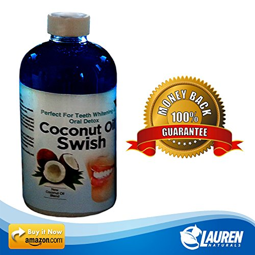 photo Wallpaper of Lauren Naturals-Coconut Oil Pulling And Mouthwash: Excellent For Teeth Whitening, Dry Mouth, & Oral Detox-