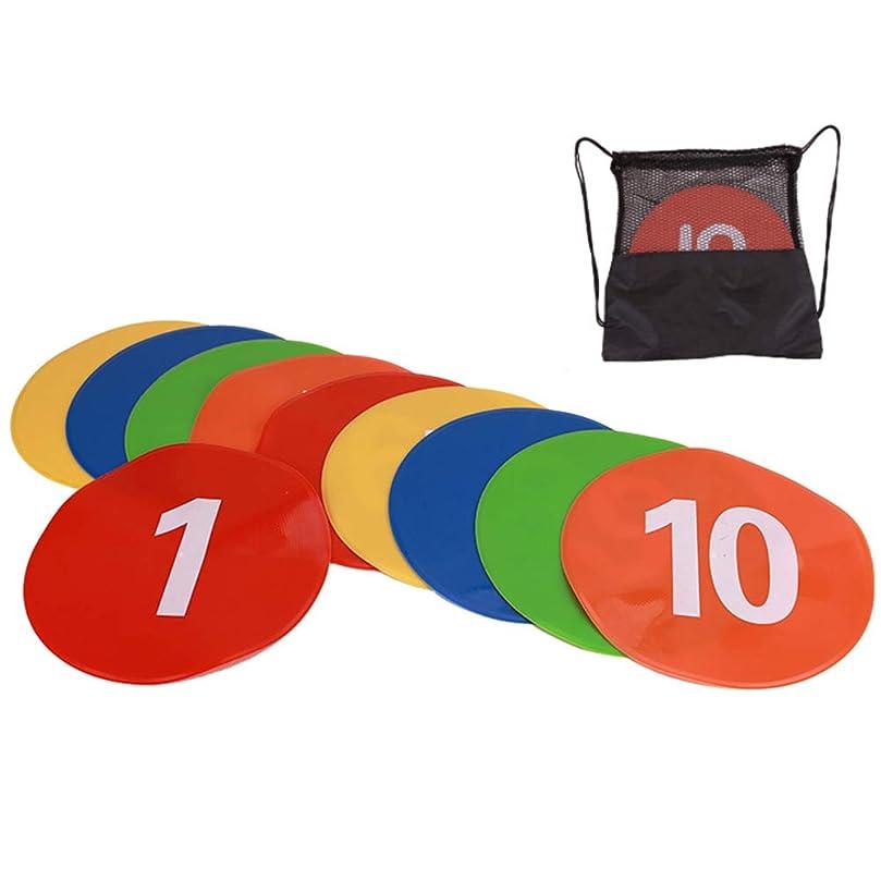負荷チャンピオンシップアミューズマーカーコーン カラーコーン ディスクコーンサッカー 陸上 トレーニング 割れにくい サッカー フットサル 用品