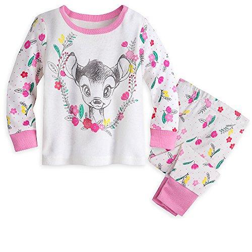 Disney Bambi PJ PALS Pajamas for Girls Size 3-6 - 3 Bambi