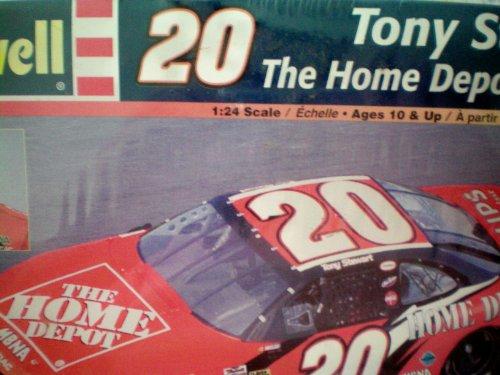(Tony Stewart 20 The Home Depot Grand Prix 1:24 Scale Model Kit NASCAR by Revell)