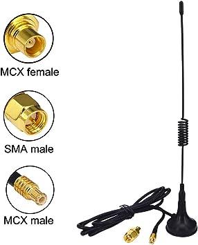 YILIANDUO 1090Mhz Antena Conector MCX 2.5dbi Conector ADS-B ...