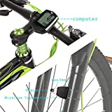 DINOKA Bike Computer Wireless Waterproof Cycling