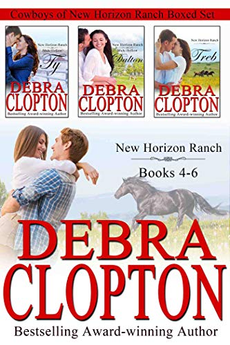 Cowboys of New Horizon Ranch Boxed Set 4-6: Contemporary Western Romance