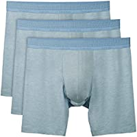 Separatec Mens Modal Boxer Briefs 3-Pack