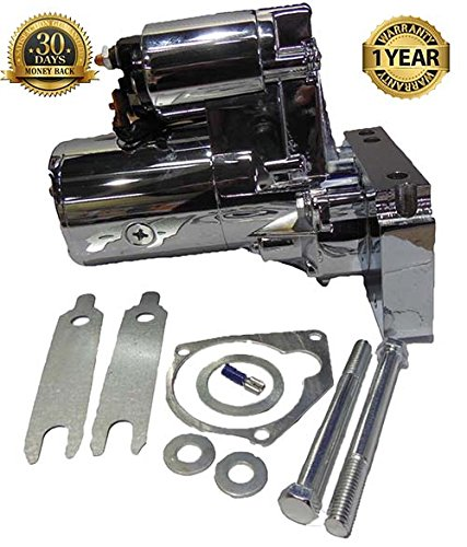 CHEVY Chrome Starter 3hp High Torque Mini 1.4kw SBC BBC 153/168 9 teeth small -