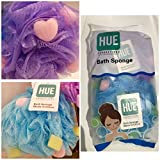 #10: Loofah by HUE Productions | Bath and Shower Sponge Bathing in Style Pack of 2 - 70 Grams Each XL Extra Large