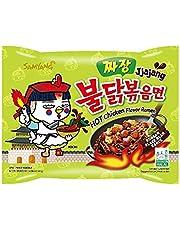 Samyang JJAJANG Hot Chicken Flavor Ramen Noodles - 140 gm
