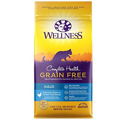 Wellness Complete Health Natural Grain Free Dry Cat Food,  Kitten Health Deboned Chicken & Chicken...