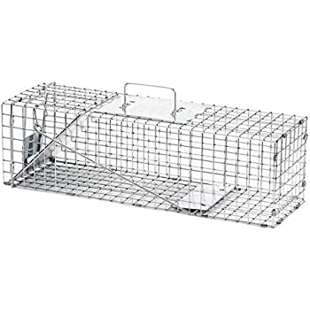 Havahart Medium Professional Style One-Door Animal Trap for Rabbit, Skunk, Mink, and Squirrel - 1078