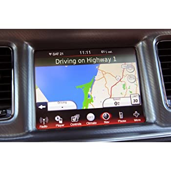 OEM Enhanced Electronics - Factory Integrated Navigation System for select  models of Dodge Charger/Journey and Chrysler 300C with 8 4 LCD Screen
