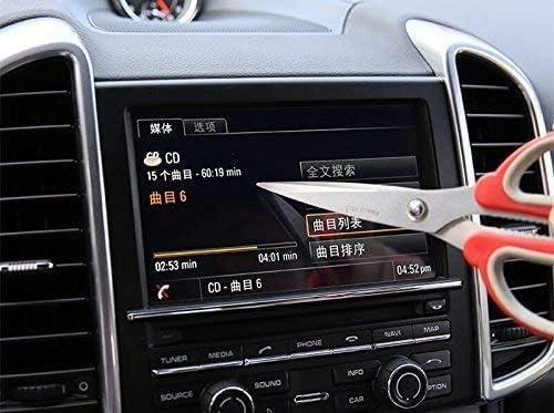強化ガラス GPSナビゲーションスクリーンプロテクター、ポルシェカイエンヌ2011-2015用。 Autozone